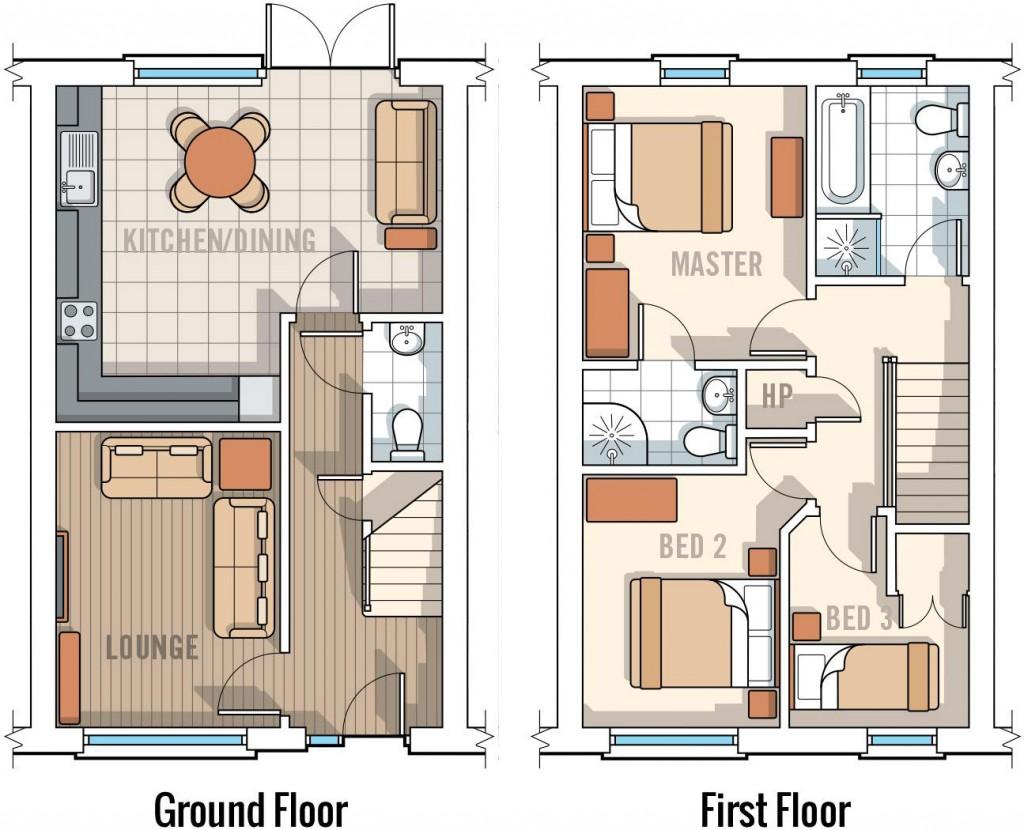 13 Victoria Close, Floor Plan
