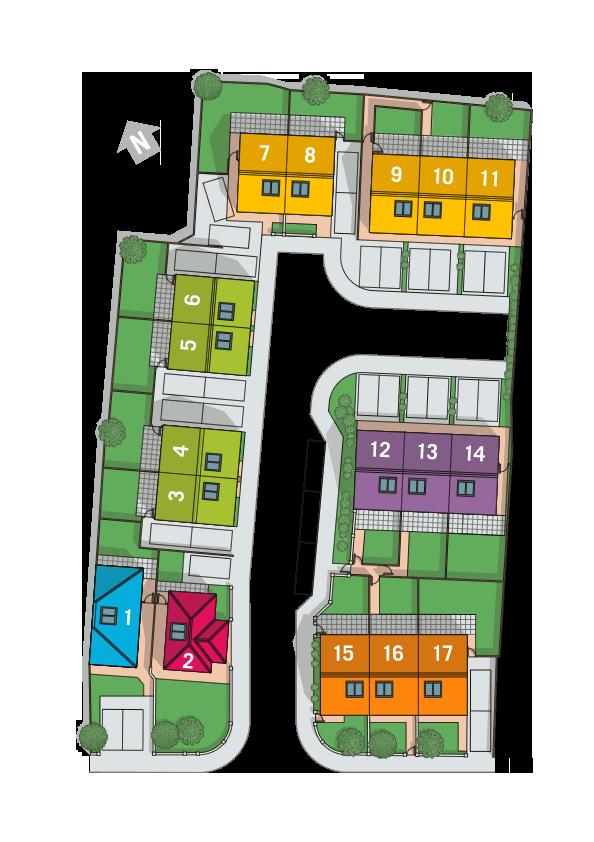 Victoria Close Site Plan