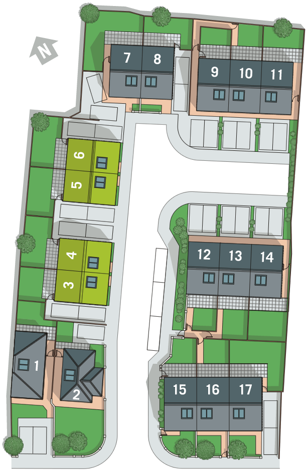 3 Victoria Close Site Plan