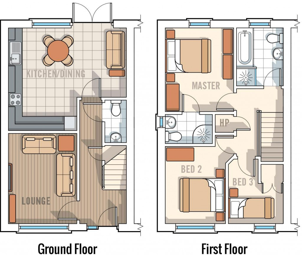 5 Victoria Close, Floor Plan
