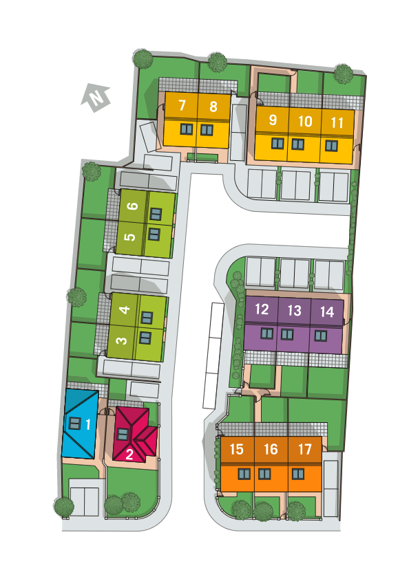 Victoria Close Site Plan