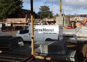 Our construction partner at Victoria Close – Corramore Construction